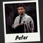 Meet Peter, a man who doesn't know what's about to hit him.