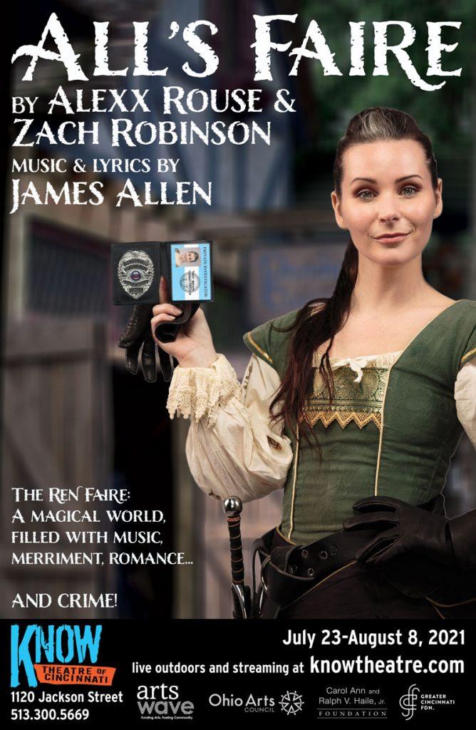 All's Faire by Alexx Rouse & Zach Robinson. Music & Lyrics by James Allen.