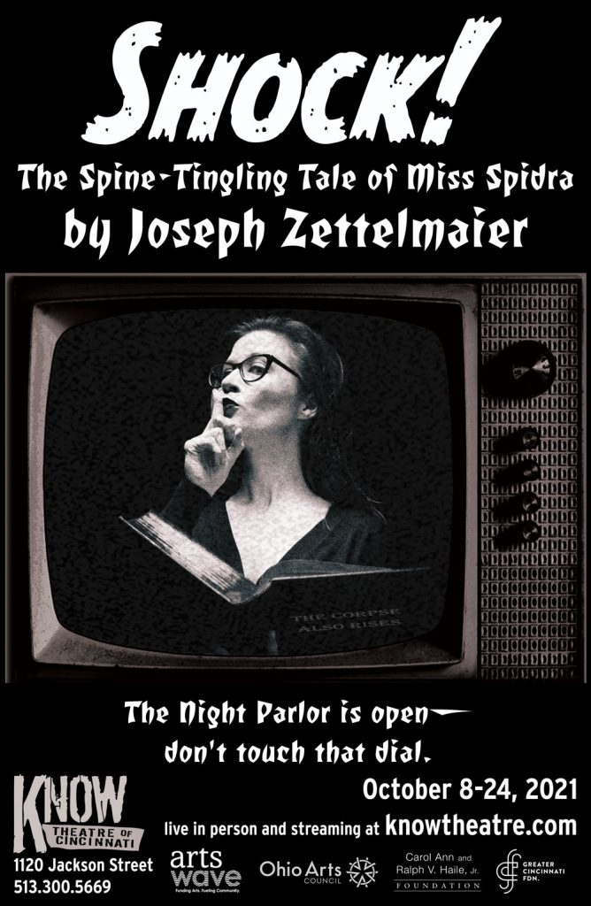 Shock! The Spine-Tingling Tale of Miss Spidra